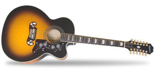 Epiphone Ltd. Ed. EJ-212CE Guitar