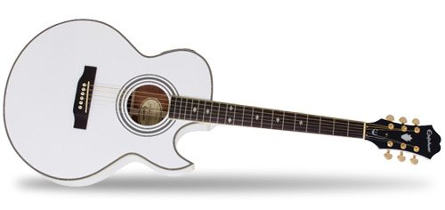 Epiphone Ltd. Ed. PR5-E in Alpine White Guitar Review