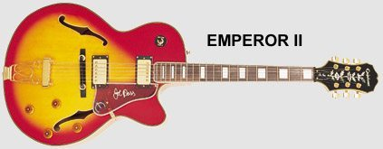 Epiphone Joe Pass Emperor II Guitar Review
