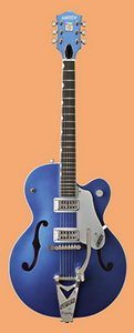Regal Blue Gretsch Electric Guitar Image
