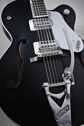 Brian Setzer Flat Black close up Image
