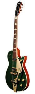Gretsch G6128TCG Duo Jet Cadillac Green Guitar Review