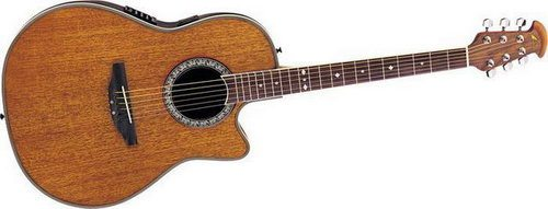 Ovation CC057 Celebrity Cutaway Acoustic Electric Guitar Review