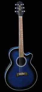 Takamine EG560CBS Cutaway Acoustic Electric Guitar Review