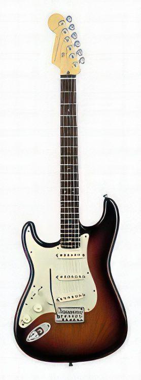 Fender Stratocaster AMERICAN DELUXE STRATOCASTER LEFT HANDED Guitar Review