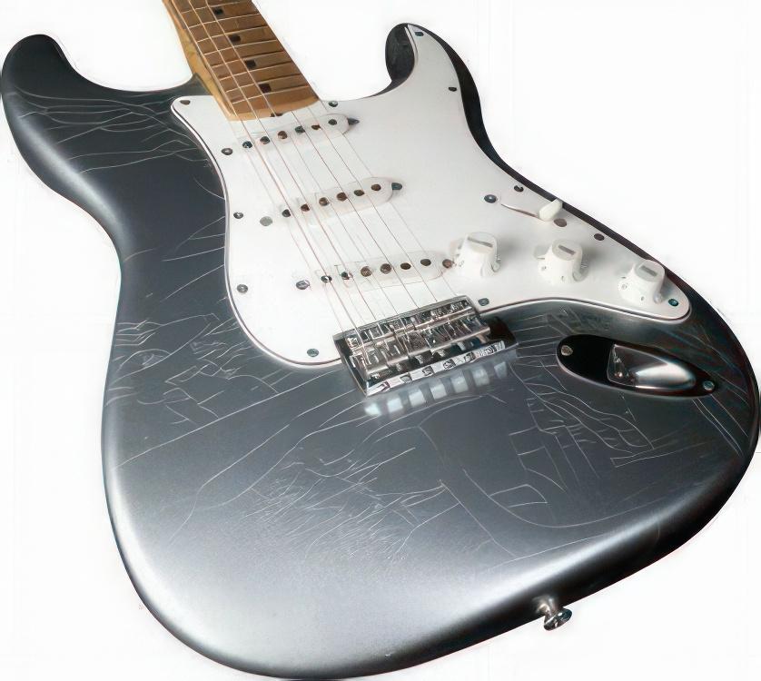 Fender Stratocaster Custom Shop Limited Edition – 1966 STRATOCASTER FIREMIST SILVER METALLIC CLOSET