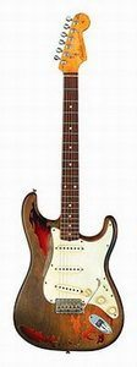 Fender Stratocaster Custom Artist – RORY GALLAGHER TRIBUTE STRATOCASTER Guitar Review