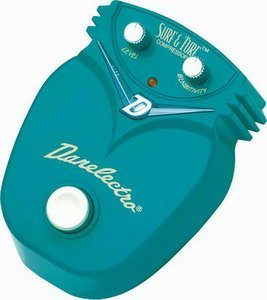 Danelectro Dj 9 Surf Amp Turf Compressor Pedal Review