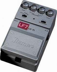 Ibanez LF7 Lo Fi Filter Pedal Review