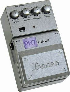Ibanez PH7 Phaser Pedal Review