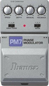 Ibanez PM7 Phase Modulator Pedal Review