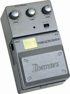 Ibanez TS7 Tubescreamer Pedal Review