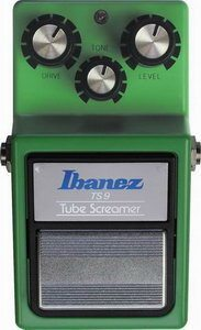 Ibanez TS9 Tube Screamer Effects Pedal Original Reissue Review
