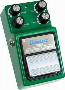 Ibanez TS9DX Turbo Tube Screamer Effects Pedal Review