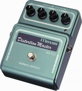 Maxon DS830 Distortion Master Review