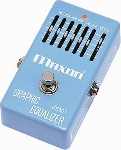 Maxon GE601 Graphic Equalizer Review