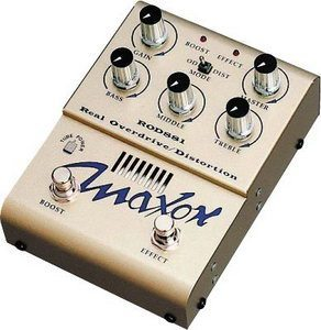 Maxon ROD881 Real Tube Overdrive/Distortion Review