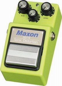 Maxon SD-9 Sonic Distortion Review