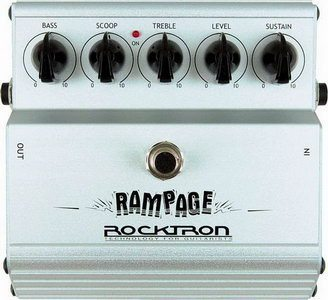 Rocktron Rampage Distortion Pedal Review