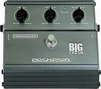Rocktron Big Crush Compressor Pedal Review