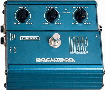 Rocktron Deep Blue Chorus Stomp Box Review