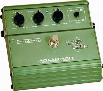 Rocktron Short Timer Retro Delay Stomp Box Review
