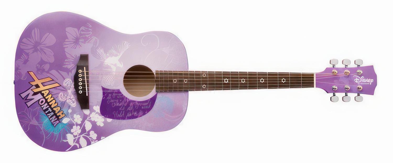 Disney Hannah Montana 3/4 Size Washburn Acoustic Guitar