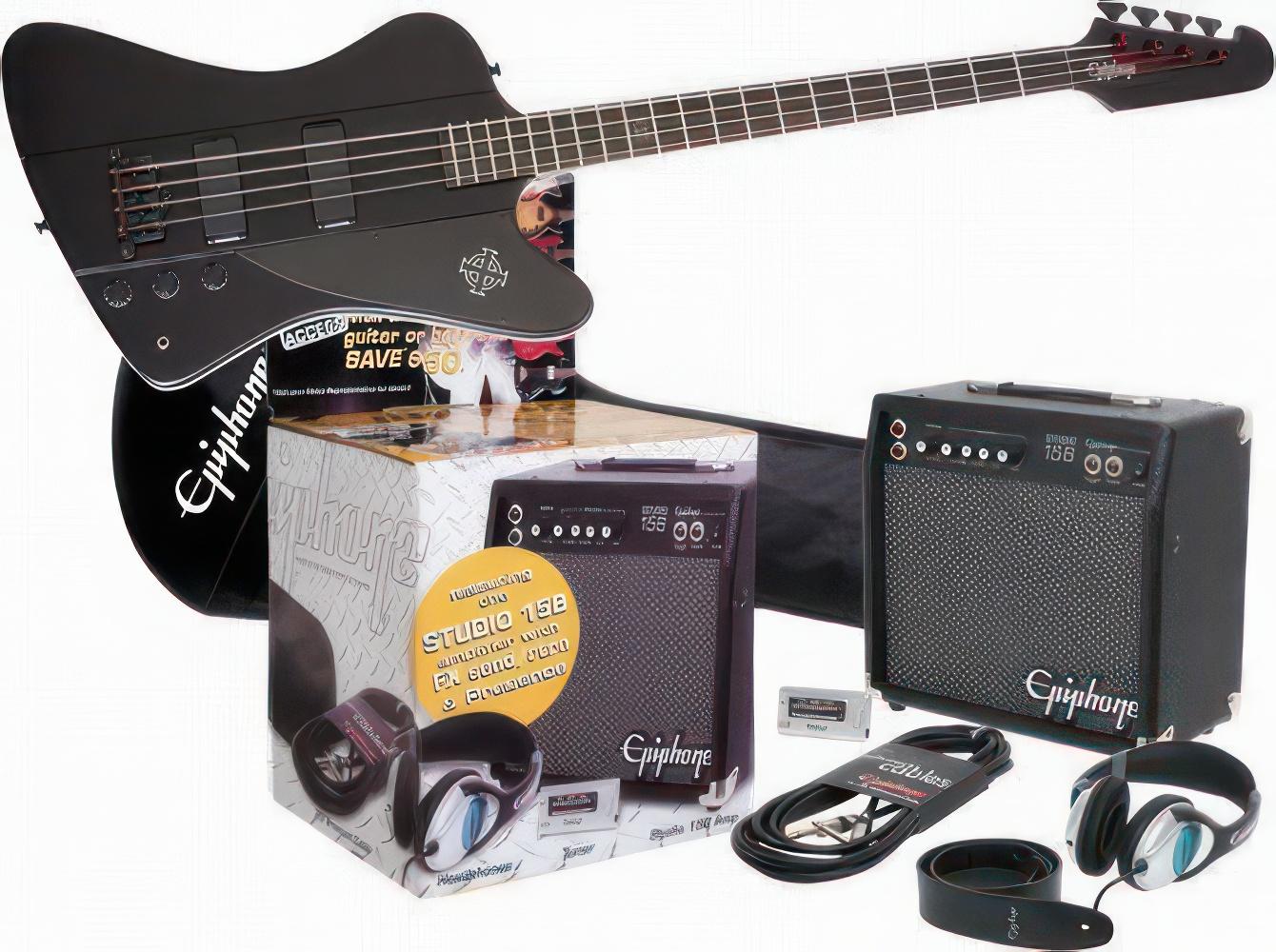 Epiphone Goth Thunderbird IV Electric Bass