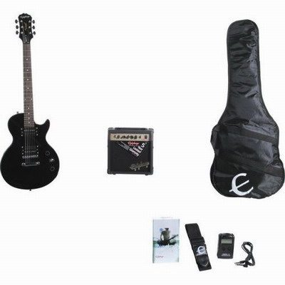 Epiphone Les Paul Special II Player Pack, Ebony