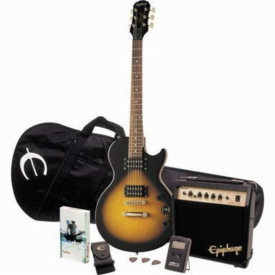 Epiphone Les Paul Special II Player Pack, Vintage Sunburst